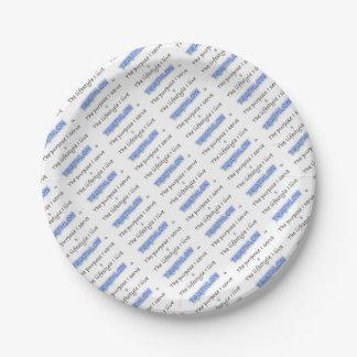 TRIATHLON - The purpose I serve Paper Plate