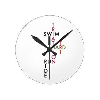 Triathlon tri hard clocks
