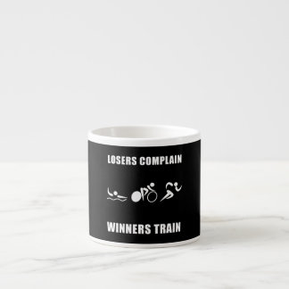 Triathlon Winners Train Espresso Cup