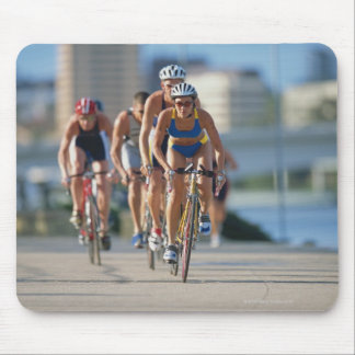 Triathloners Cycling 2 Mouse Pad
