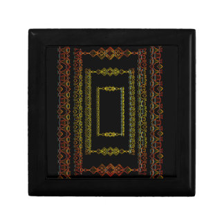 Tribal abstract. gift box