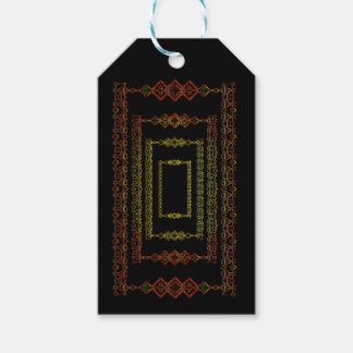 Tribal abstract. gift tags