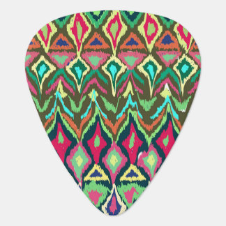 Tribal abstract pattern guitar pick