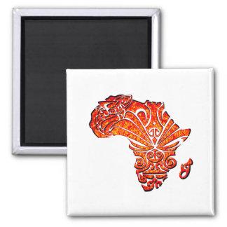 Tribal Africa Magnet
