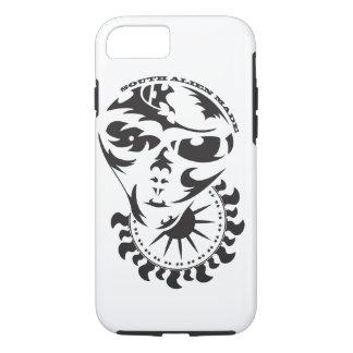 Tribal Alien with sun iPhone 7 Case