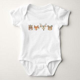 Tribal Animal Baby Romper Baby Bodysuit