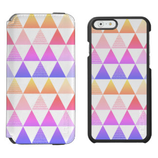 Tribal Arrow Rainbow Prism Geometric Incipio Watson™ iPhone 6 Wallet Case