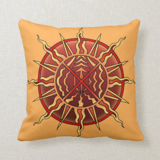 Tribal Art Pillow First Nations Art Pillows