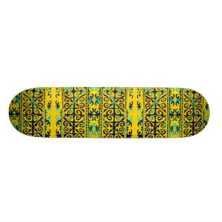 Tribal art skate decks