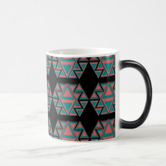 Tribal Aztec Pattern Morphing Coffee Mug