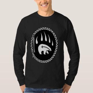 Tribal Bear Art Shirt Bear Claw Men's Tee Shirts