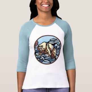 Tribal Bear Art Women's Jersey Bear Shirts