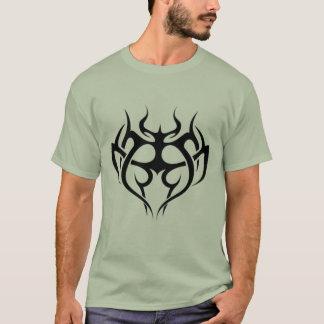 Tribal Black Heart T-Shirt