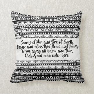 Tribal blessings cushion