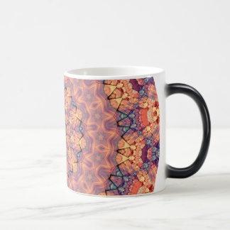 TRIBAL BOHEMIAN KALEIDOSCOPIC GEOMETRIC MANDALA MAGIC MUG