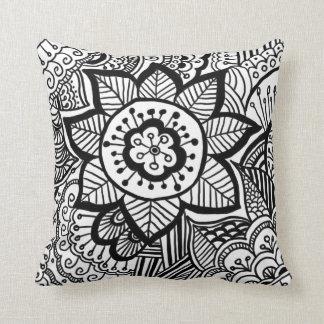 Tribal Bohemian Pattern Girly Throw Pillow