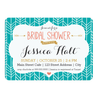 Tribal Boho Bridal Shower Invitation