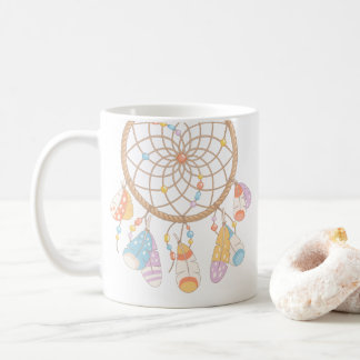 Tribal Boho Dreamcatcher Coffee Mug