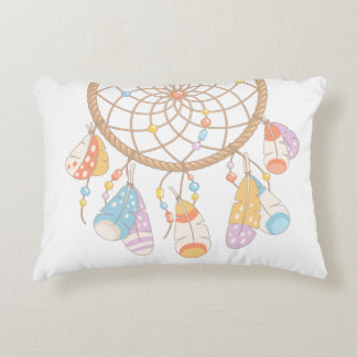 Tribal Boho Dreamcatcher Decorative Cushion