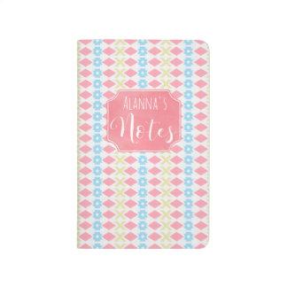 Tribal Boho Pattern Pocket Journal Notebook