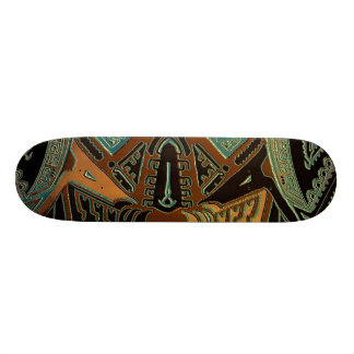 Tribal bold abstract skateboard by hybridworld