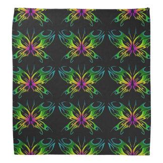 tribal butterfly bandanna