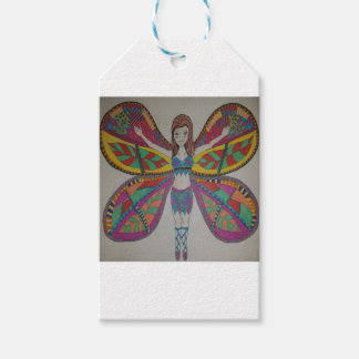 Tribal butterfly Fairy Gift Tags