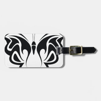 Tribal Butterfly Luggage Tag