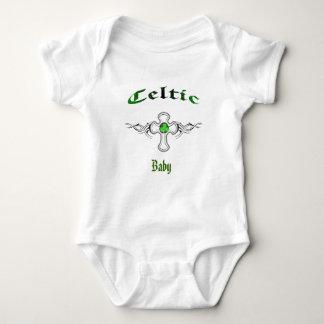tribal celtic cross baby onsie shirts