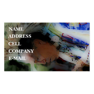 'Tribal Chief in Ceremony' Pack Of Standard Business Cards