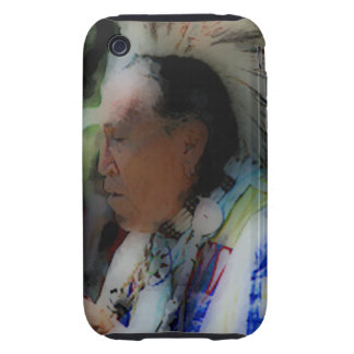 'Tribal Chief in Ceremony' Tough iPhone 3 Cover