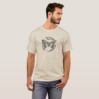 Tribal Circle Moth Men's Shirt