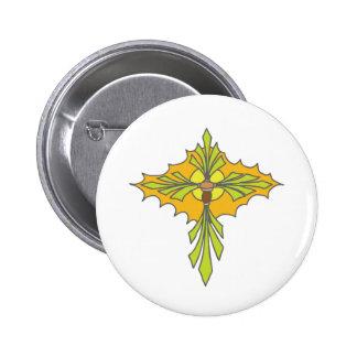 Tribal Cross 2 Button