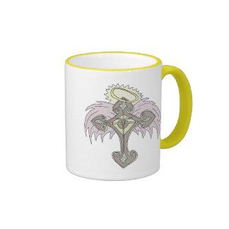 Tribal Cross 3 Coffee Mugs