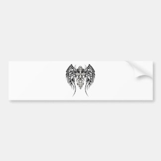 Tribal Cross Bumper Stickers