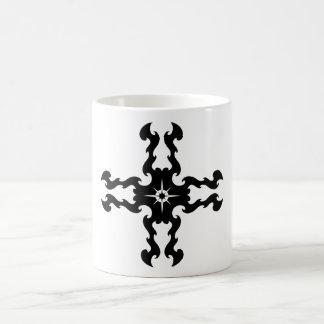 Tribal Cross Design Mugs