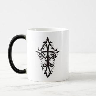 Tribal cross magic mug