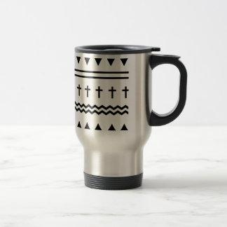 Tribal Cross Pattern Mug