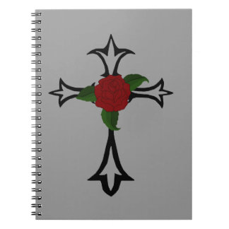 Tribal Cross Spiral Notebook