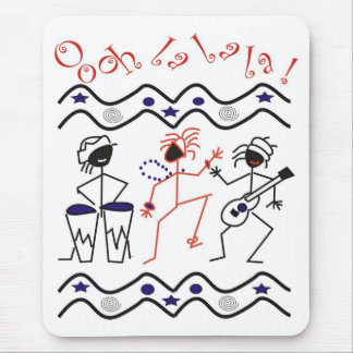 Tribal Dance And Music Mousepad