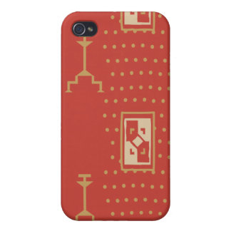 Tribal Decorative 2 iPhone 4 Covers