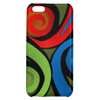 Tribal Design Colorful  Expression Iphone 5 Case