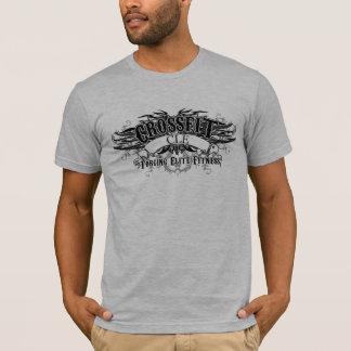 Tribal Design (Dark Logo with back) T-shirt