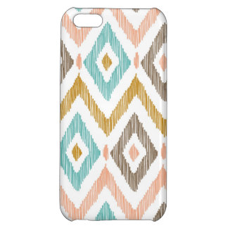 Tribal Diamond Ikat iPhone 5C Cases