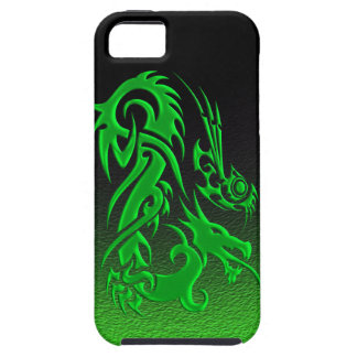 Tribal Dragon 2 green iPhone 5 Cover