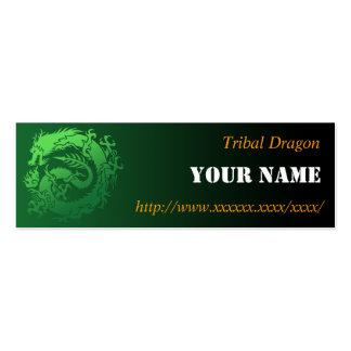 Tribal dragon 名刺テンプレート