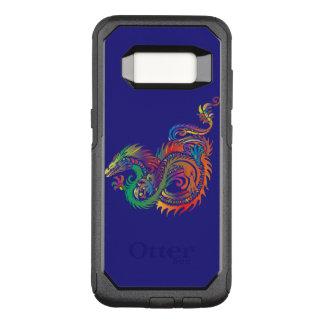 Tribal dragon on Samsung Galaxy S8 Otterbox case