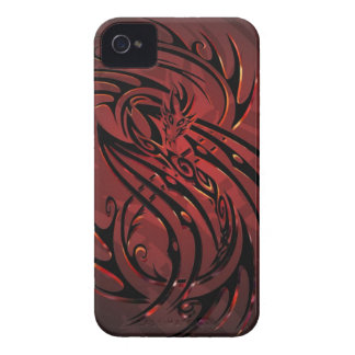 tribal dragon phone case