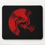 Tribal Dragons Yin Yang (Customisable) Mousemat
