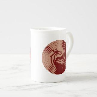 Tribal Dragons Yin Yang (Personalize It!)l Bone China Mug